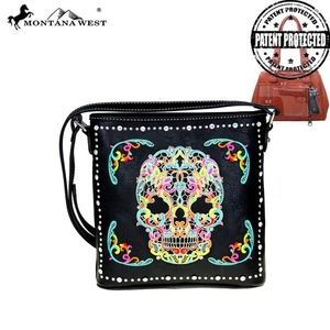 NWT - Montana West Sugar Skull Collection Conceale